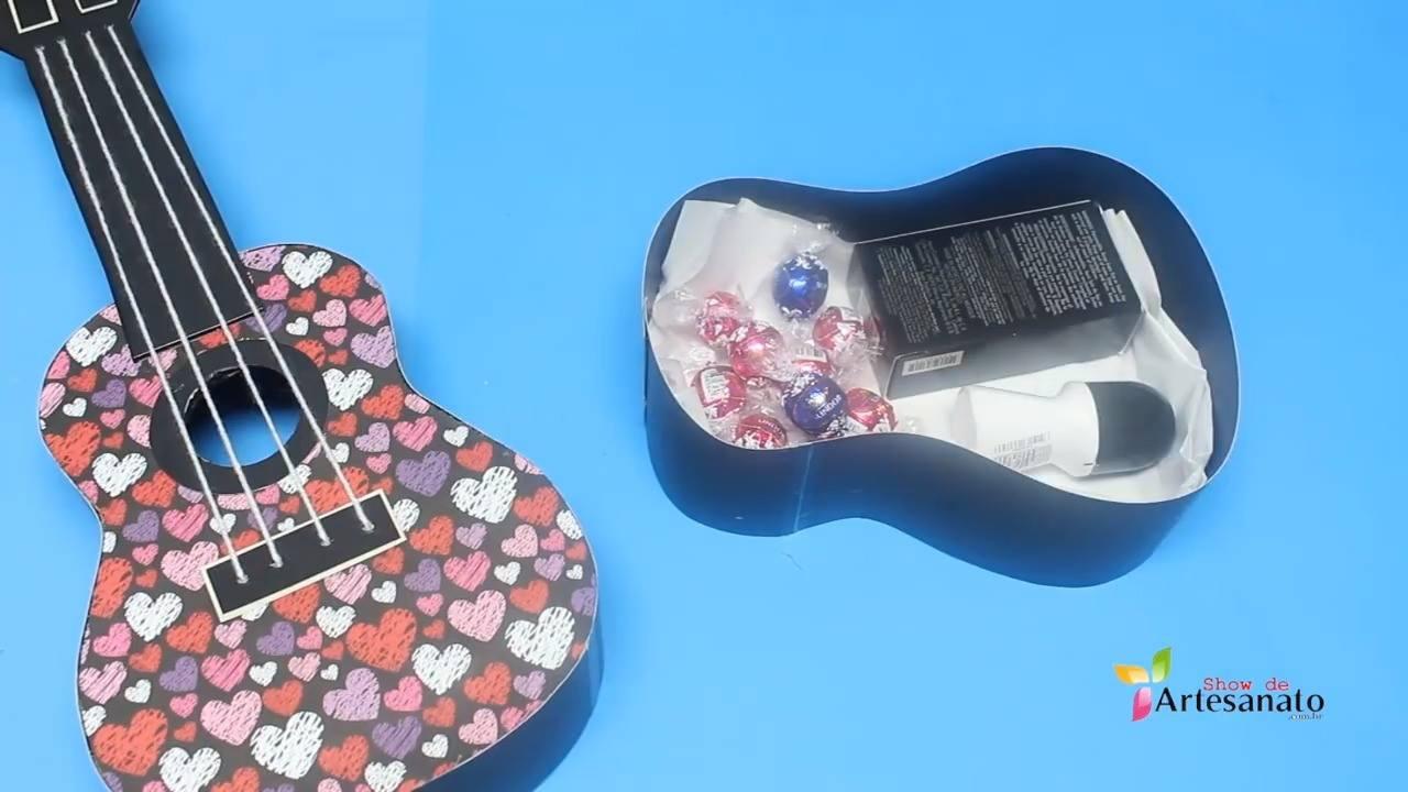 Ideias de presentes para o dia dos namorados, uma caixa de presente muito linda!