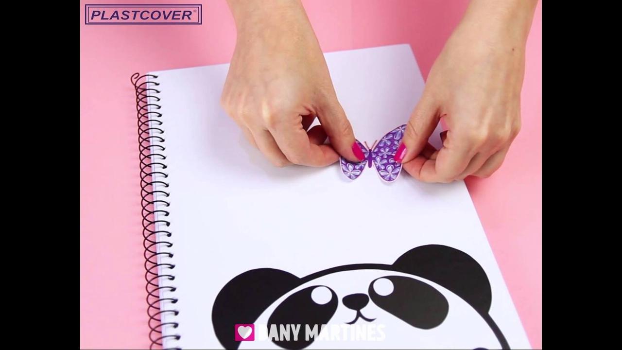 Ideias para capas de cadernos