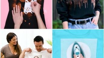 Ideias Para Customizar Roupas, Veja Que Resultados Sensacionais!