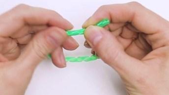 Ideias Para Fazer Com Canudos De Plásticos, Que Incrível!