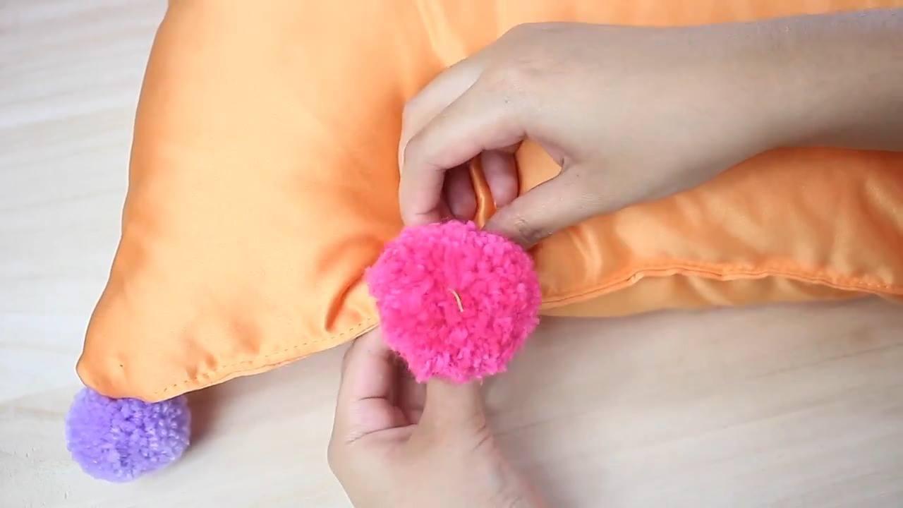 Ideias para fazer com pompons, todas são lindas