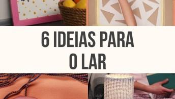 Ideias Simples De Decorações Que Você Pode Fazer Na Sua Casa!