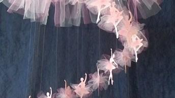 Inspiração De Mobile De Bailarina Maravilhoso, Impossível Não Se Apaixonar!