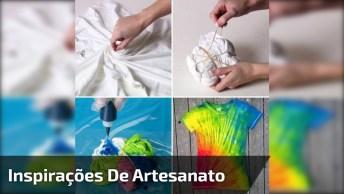 Inspirações De Artesanato Para Você Fazer Com As Crianças, Confira!