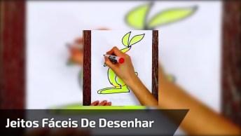 Jeitos Fácies De Desenhar, Você Vai Adorar Cada Um Deles, Confira!
