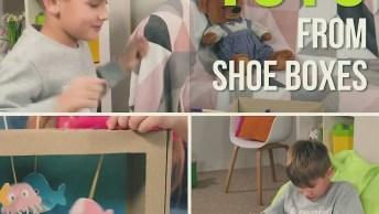 Jogos Que Dá Para Fazer Com Caixas De Papelão, Seus Filhos Irão Adorar!