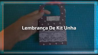 Kit Unha Fácil Para Dar De Lembrança, Uma Super Ideia Para Você!