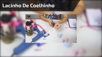 Lacinho De Coelhinho - Fica Lindo E É Super Fácil De Fazer, Confira!