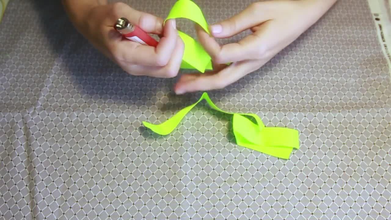 Laço Flor para colocar em tiara e bico de pato