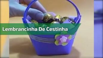 Lembrancinha De Cestinha, Uma Ideia Perfeita Para O Dia Das Mães!