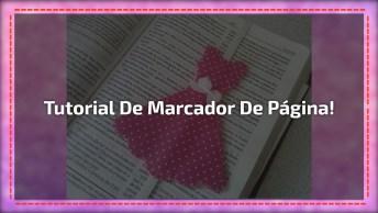 Lembrancinha Para O Dia Das Mães, Um Marcador De Livro Em Forma De Vestido!