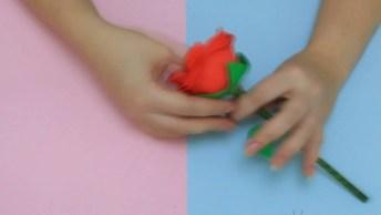 Lembrancinha Para O Dia Das Mães - Uma Rosa Com Bombom, Confira!