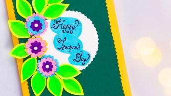 Lembrancinha Para O Dia Dos Professores, Uma Ideia Muito Criativa!