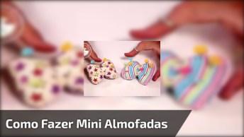Mini Almofadinhas Em Formato De Laço Para Colocar Alfinetes!