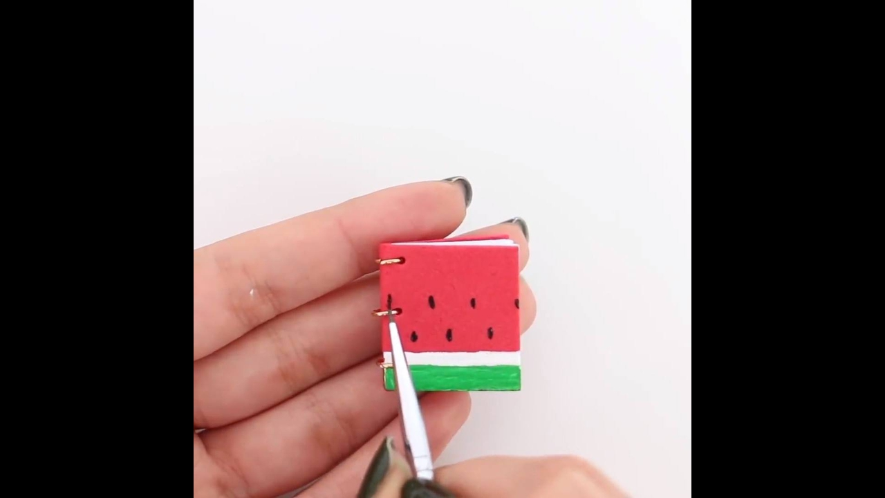 Mini caderninhos - Aprenda a fazer essa fofura de artesanato