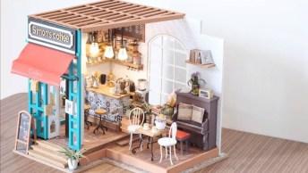 Mini Cafeteria, Olha Só Estes Detalhes Lindos E Incríveis!