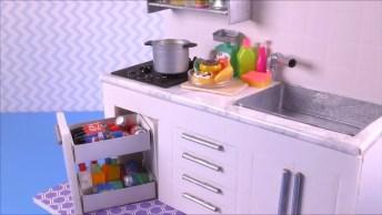 Mini Cozinha De Artesanato, Veja Como Fazer A Sua Própria 'Cozininha'!
