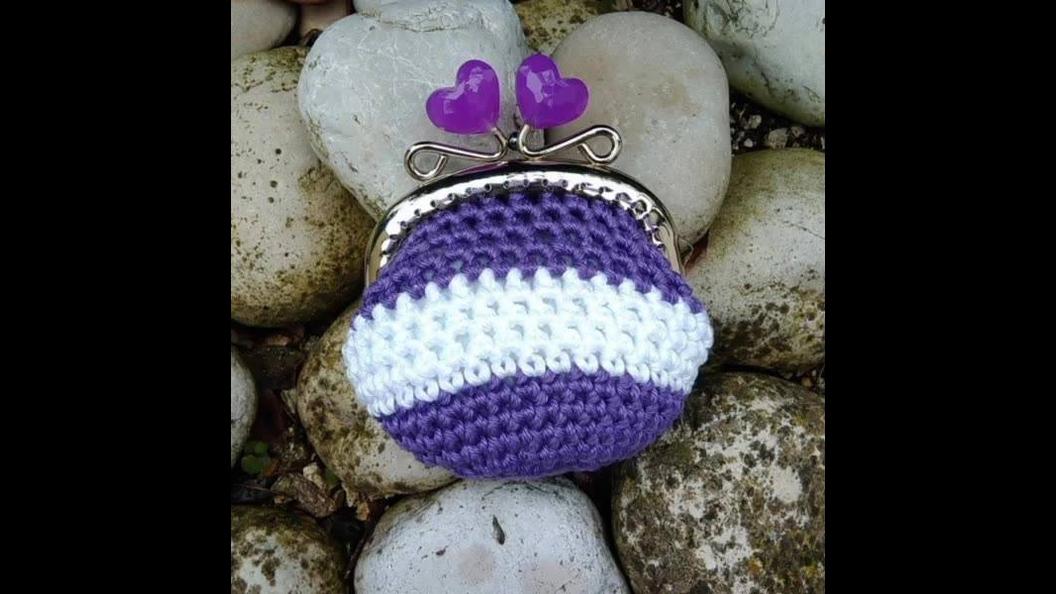 Mini porta-moeda de Crochê, são modelos incríveis