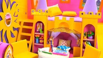 Miniatura De Castelo Para Criança Brincar, Mais Um Vídeo De Artesanato!