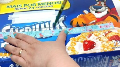 Organizador Escolar Feito Com Caixa De Cereal, Olha Só Que Fácil De Fazer!
