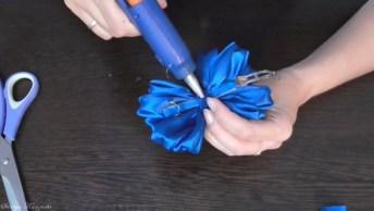 Passo A Passo Para Fazer Um Laço Flor, Fica Muito Bonito!