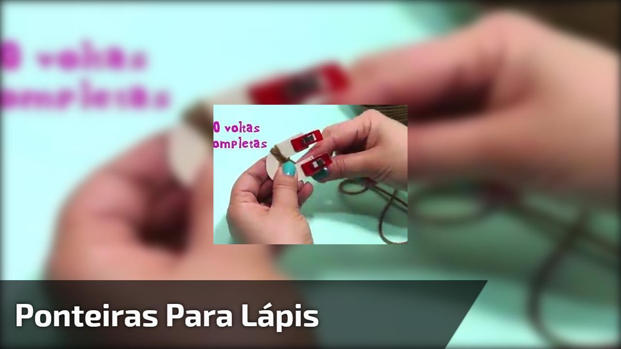 Ponteiras para lápis