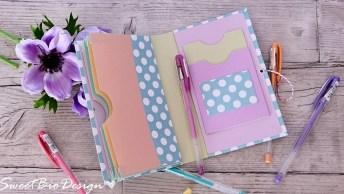 Porta Documentos Para Mãe - Uma Ótima Opção Para Presente De Dia Das Mães!