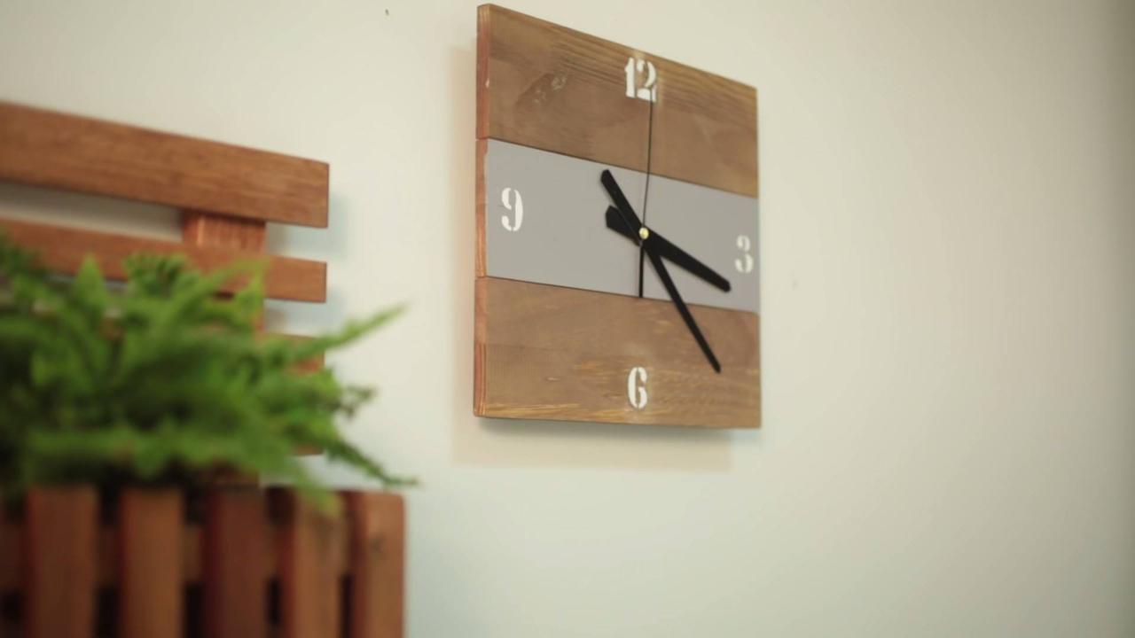 Relógio de Parede feito artesanalmente