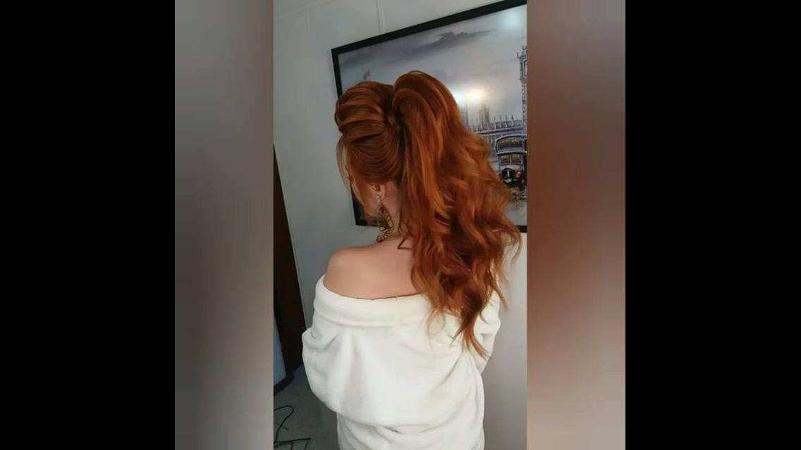 Resultado de um lindo penteado