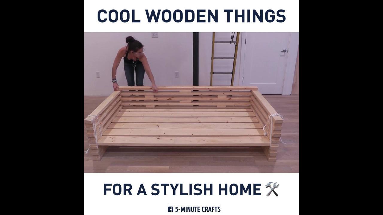 Trabalhos feitas de madeira