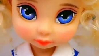 Transformando Maquiagem De Boneca, Olha Só Que Coisa Mais Linda!