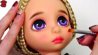 Transformando Maquiagem De Bonecas, Olha Só Que Lindas, Simplesmente Perfeito!