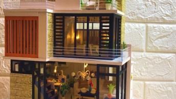Tutorial De Casa Luxuosa Em Miniatura, Veja Que Linda Peça!