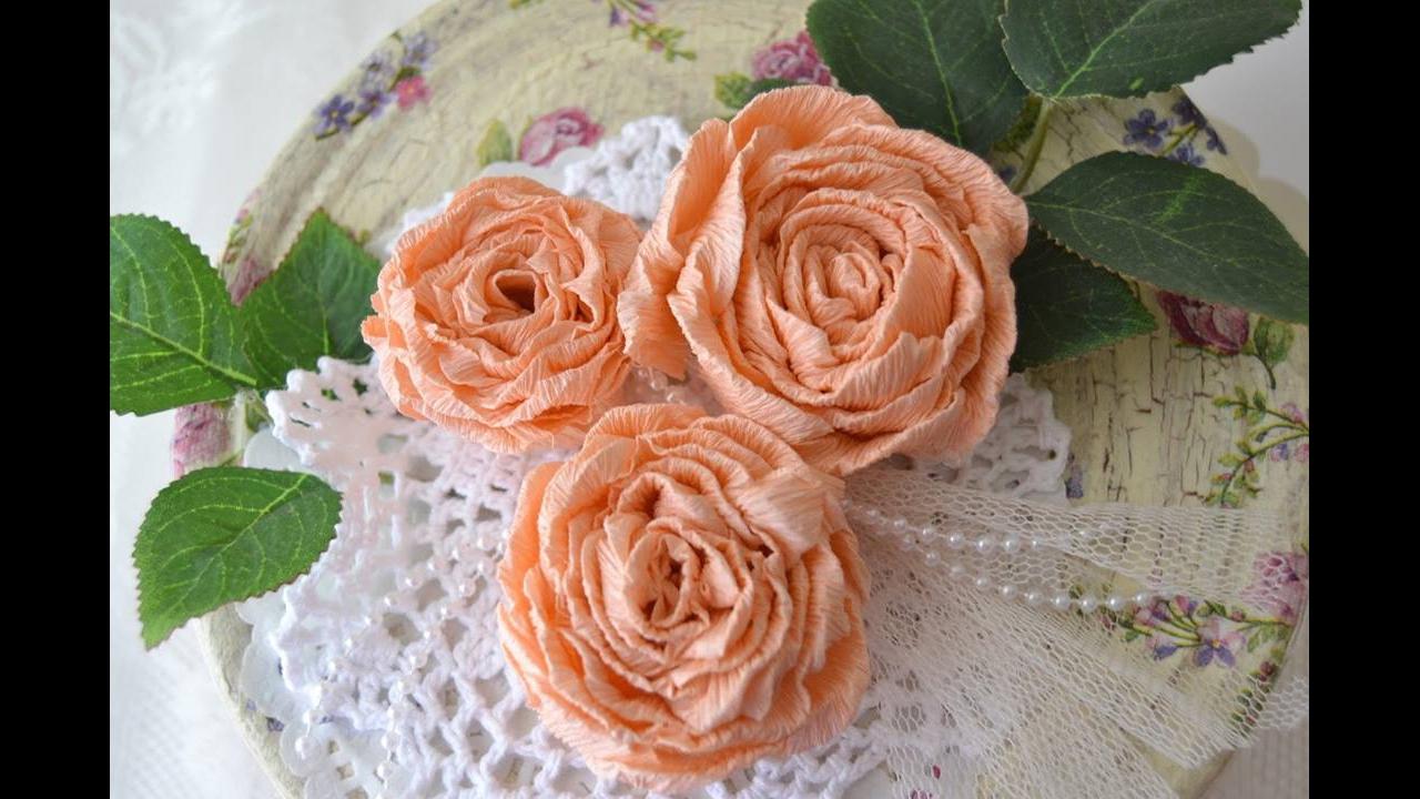 Tutorial de rosas para decorar a sua casa
