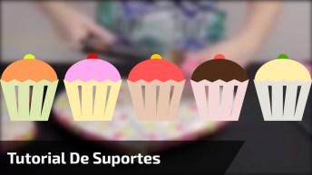 Tutorial De Suportes Para Cupcakes, Vale A Pena Conferir Este Vídeo Maravilhoso!