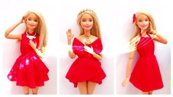 Tutorial De Vestidinhos Para Boneca, É Um Mais Lindinho Que O Outro!