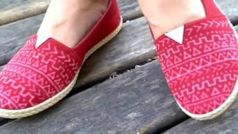Vídeo Com Ideias De Customização De Roupa, Veja Como São Legais!