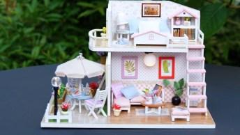 Vídeo Com Passo A Passo De Casa De Campo Em Miniatura, Encantador!