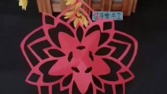 Vídeo Com Tutorial De Origamis, É Um Mais Lindo Que O Outro Confira!