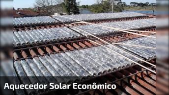Vídeo Mostrando Como É Feito Um Aquecedor Solar, Ecologicamente Correto!