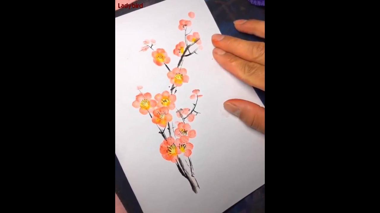 Vídeo mostrando lindas obras de artes
