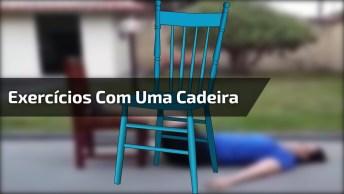 5 Exercícios Para Fazer Com Uma Cadeira, Será Que Dá Certo?