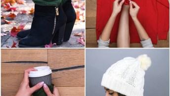 5 Ideias Para O Inverno, Transformes Suas Blusas De Lãs Em Lindos Acessórios!