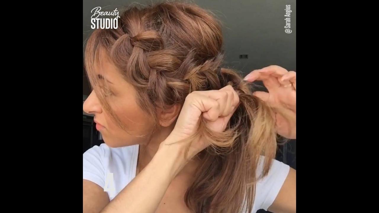 5 Penteados para você mesma fazer