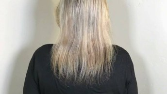 Antes E Depois De Colocação De Mega Hair, Veja Que Transformação!