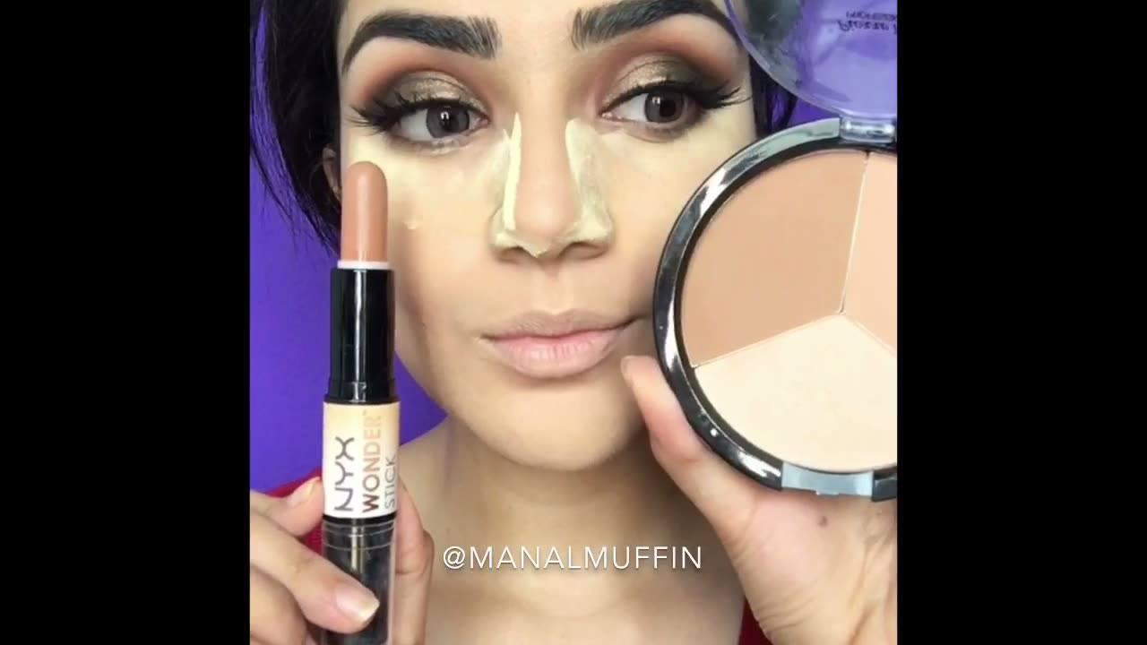 Aprenda a fazer os contornos para finalizar uma maquiagem