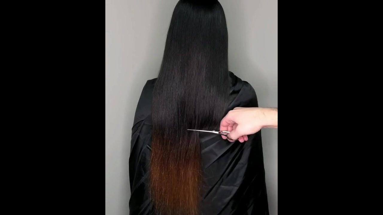 Aquele momento que você arrepende do ombré hair