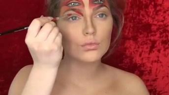 As Maquiagens Artisticas Mais Improváveis Já Vista, Confira!
