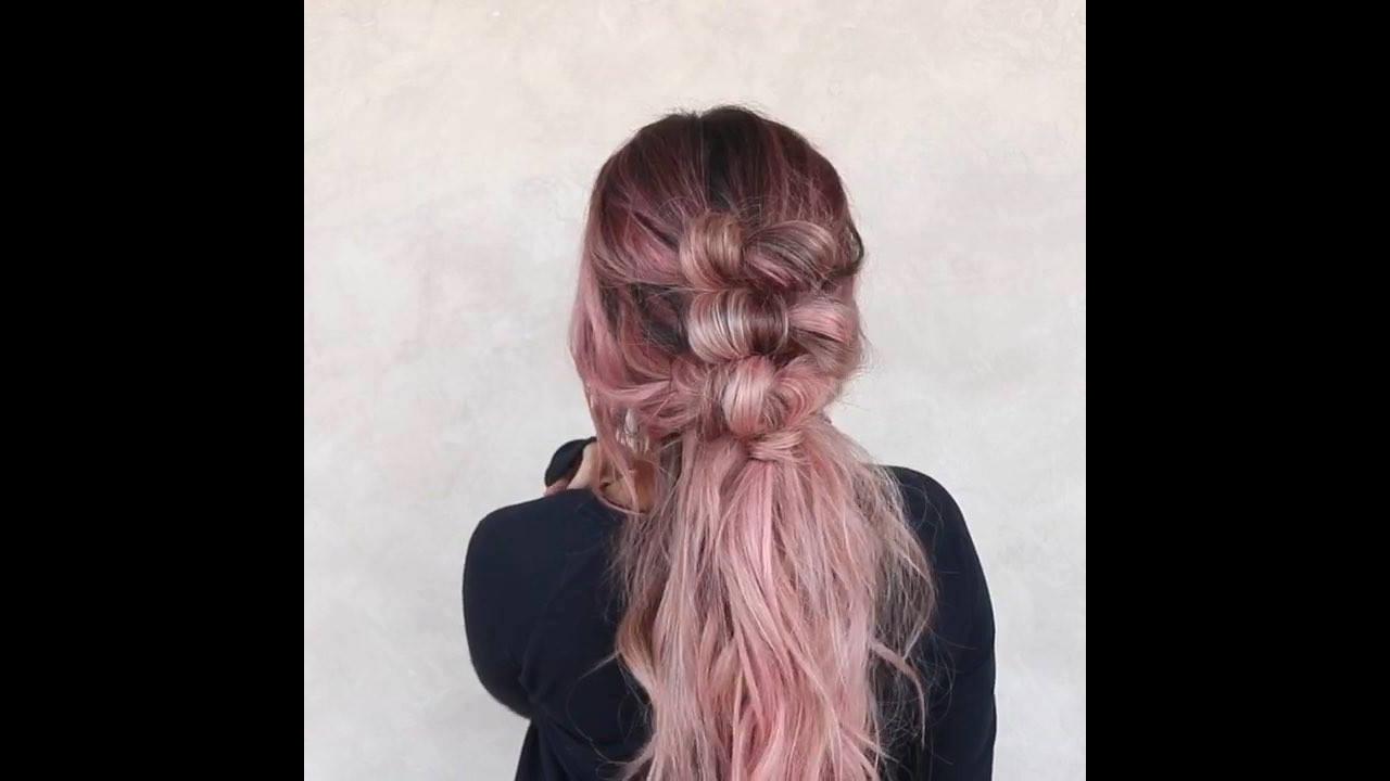 Cabelo com penteado e cor maravilhosa