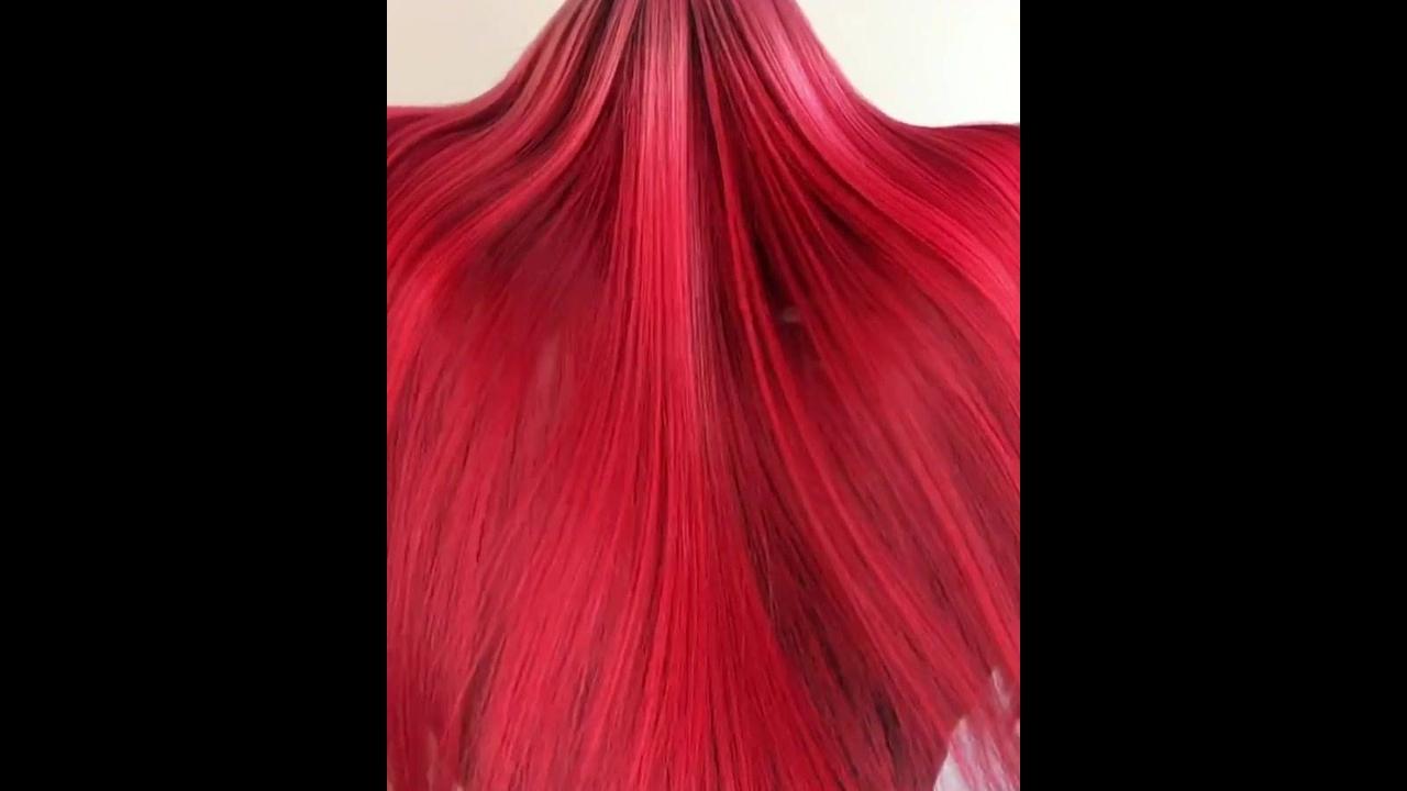 Cabelo vermelho maravilhoso